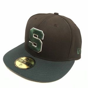 NEW ERA Michigan State SPARTANS fitted hat 7 1/4